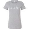 Heartbeat of a Cook Ladies Fitted T-Shirt