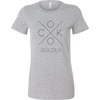 Cook Boldly Ladies Fitted T-Shirt