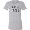 "I ""Taco"" Tacos Ladies Fitted Shirt"