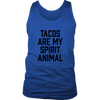 Tacos Are My Spirit Animal Mens Tank