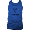 P is for Pizza Mens Tank