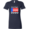 Hindsight 2020 Ladies Fitted T-Shirt
