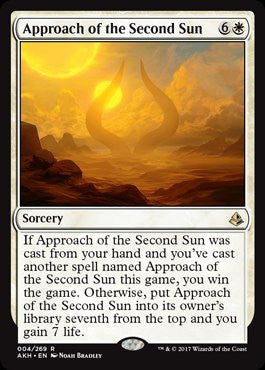 Approach of the Second Sun - Magic The Gathering - Singles - - Dice Bag Games