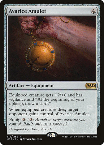 Avarice Amulet - Magic The Gathering - Singles - - Dice Bag Games