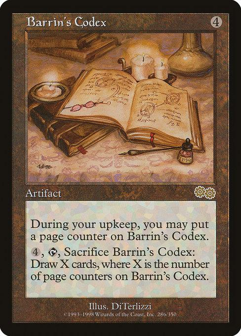 Barrin's Codex - Magic The Gathering - Singles - - Dice Bag Games