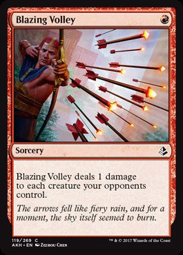 Blazing Volley - Magic The Gathering - Singles - - Dice Bag Games