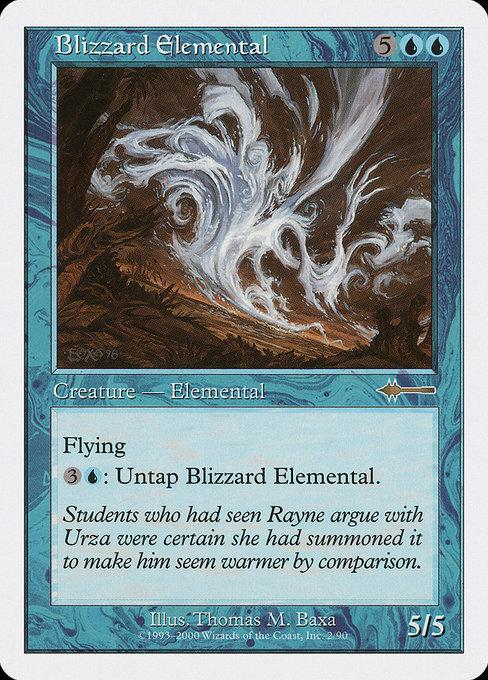 Blizzard Elemental - Magic The Gathering - Singles - - Dice Bag Games