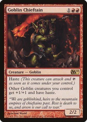 Goblin Chieftain - Magic The Gathering - Singles - - Dice Bag Games