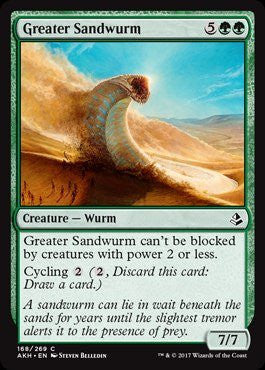 Greater Sandwurm - Magic The Gathering - Singles - - Dice Bag Games
