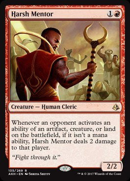 Harsh Mentor - Magic The Gathering - Singles - - Dice Bag Games