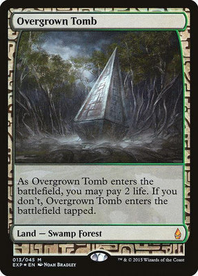 Overgrown Tomb - Magic The Gathering - Singles - - Dice Bag Games