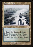 Polluted Delta - Magic The Gathering - Singles - - Dice Bag Games