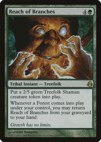 Reach of Branches - Magic The Gathering - Singles - - Dice Bag Games