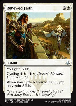 Renewed Faith - Magic The Gathering - Singles - - Dice Bag Games