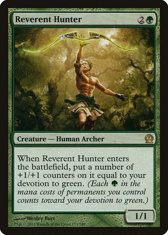 Reverent Hunter - Magic The Gathering - Singles - - Dice Bag Games