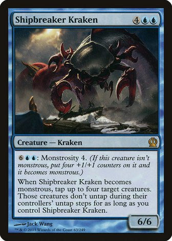 Shipbreaker Kraken - Magic The Gathering - Singles - - Dice Bag Games