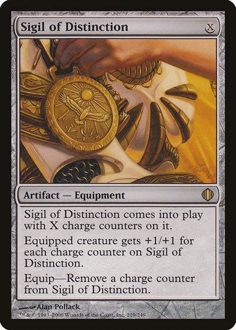 Sigil of Distinction - Magic The Gathering - Singles - - Dice Bag Games