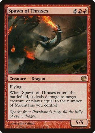 Spawn of Thraxes - Magic The Gathering - Singles - - Dice Bag Games