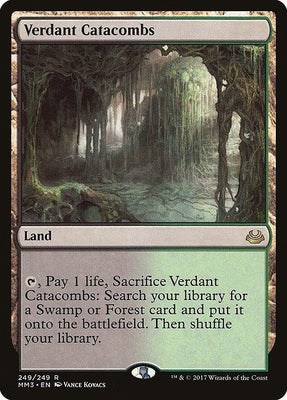 Verdant Catacombs - Magic The Gathering - Singles - - Dice Bag Games