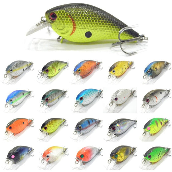 Shallow Diving Slow Moving Crankbait BSS658
