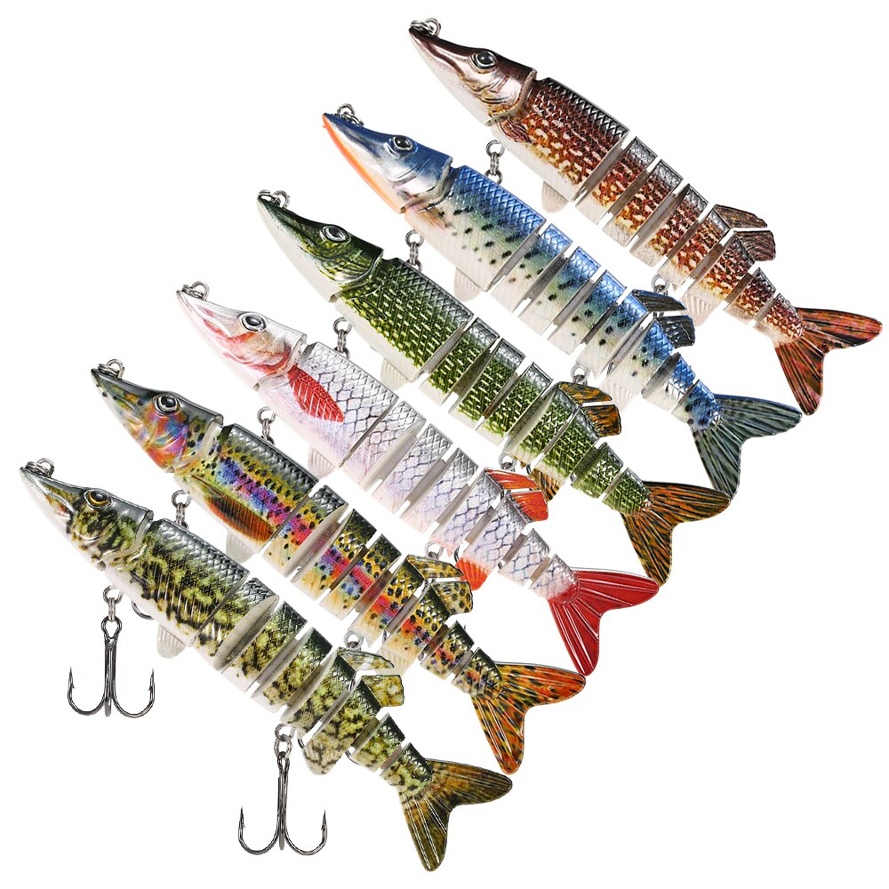 Pike 9 Segment Swimbait BSS002