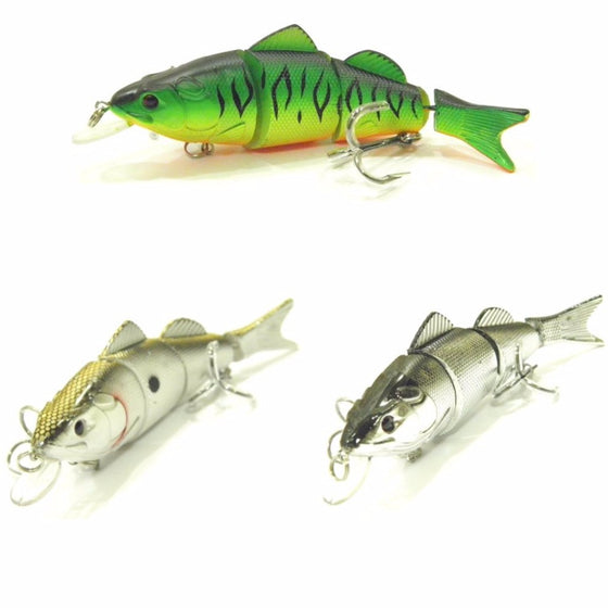 Medium Diving 4 Segment Swimbait BSS596