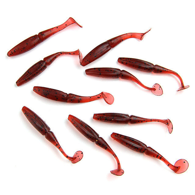 Soft Plastic Lures (10 Pieces) BSS-S09