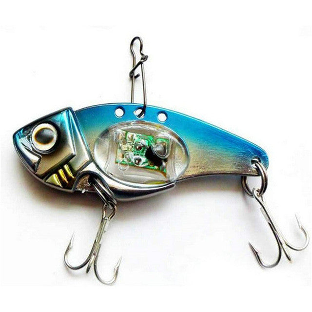 Bass Smasher Firebolt LED Blinking Fishing Lure