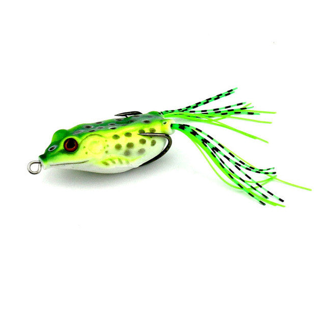 Top Water Frogs (With Double Hooks) BSS-F01