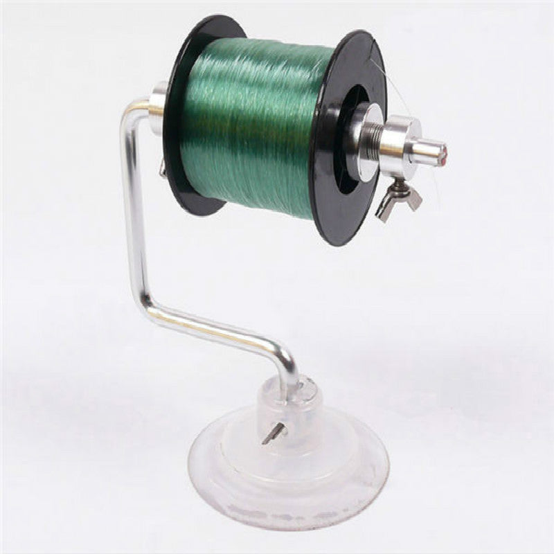 Aluminum Fishing Line Spooler System (With Vacuum Suction)
