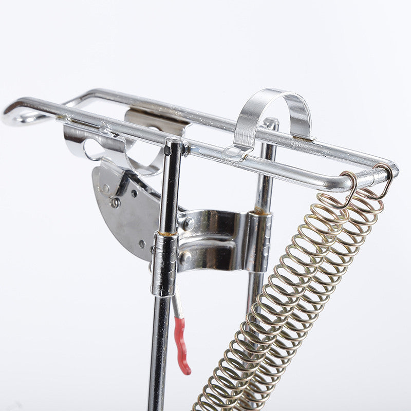 Rod Holder With Automatic Tip-Hook Setter