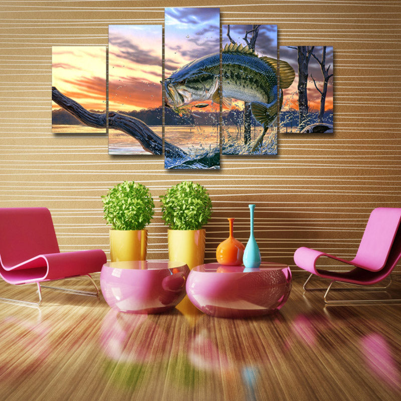 Premium 5 Piece Bass Canvas