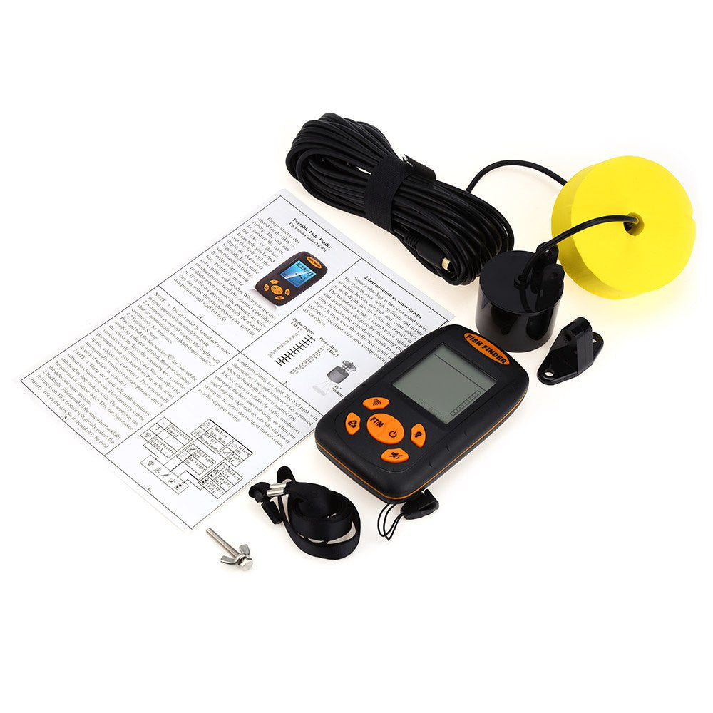 Bass Smasher Sonar LCD Fish Finder