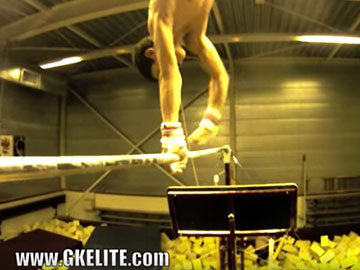 Dutch Men's Team Practices in GK Gymnastics Apparel