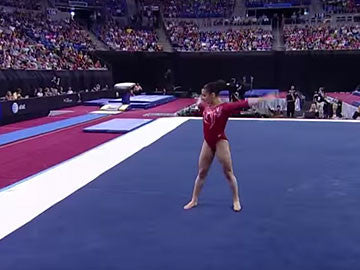 GK Gymnastics Commerical for Worlds 2013