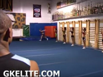GK Elite, Top Gun All Stars, Shawn Johnson Engineered for Cheer