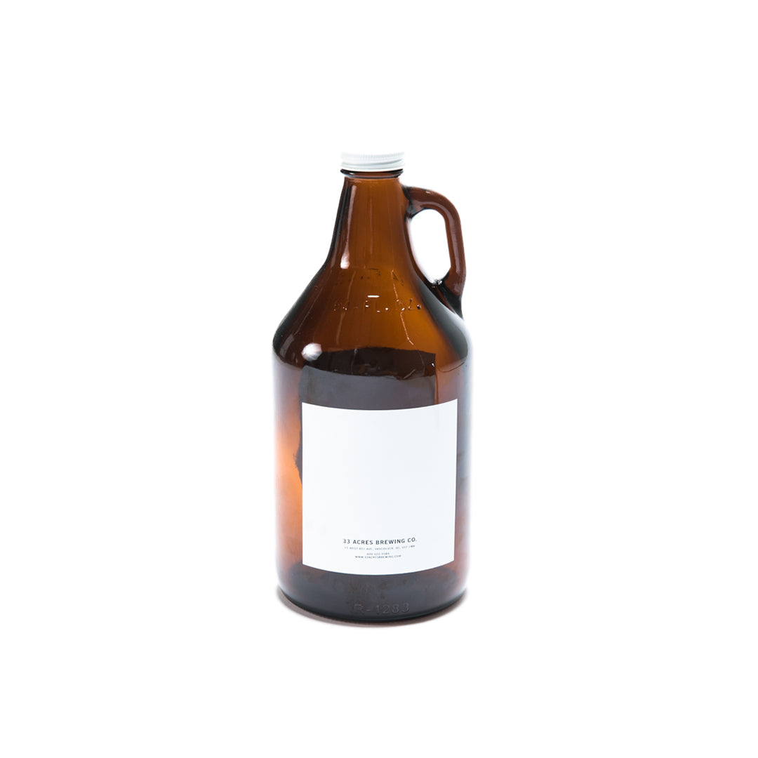 Glass Growler - 64oz