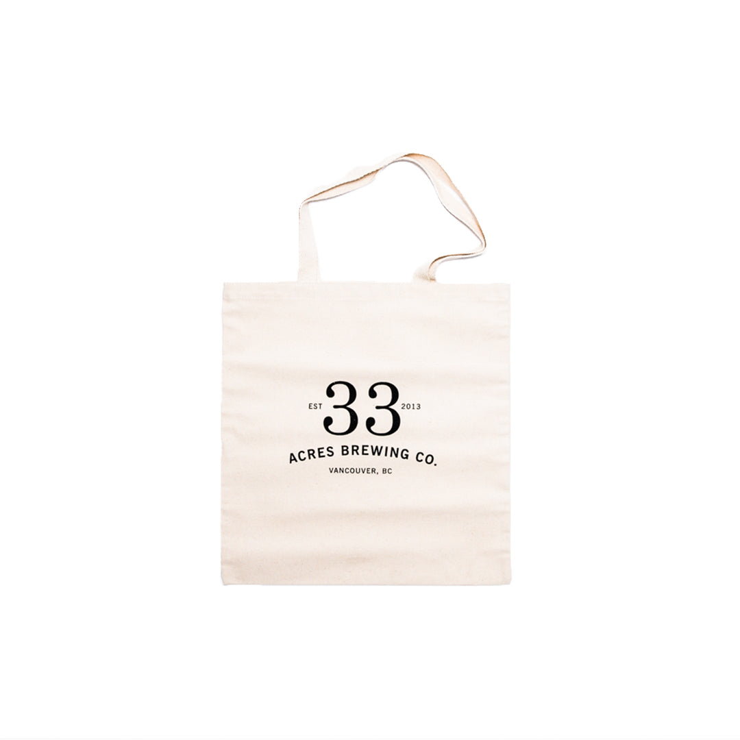33 Acres Brewing Co. - Tote Bag