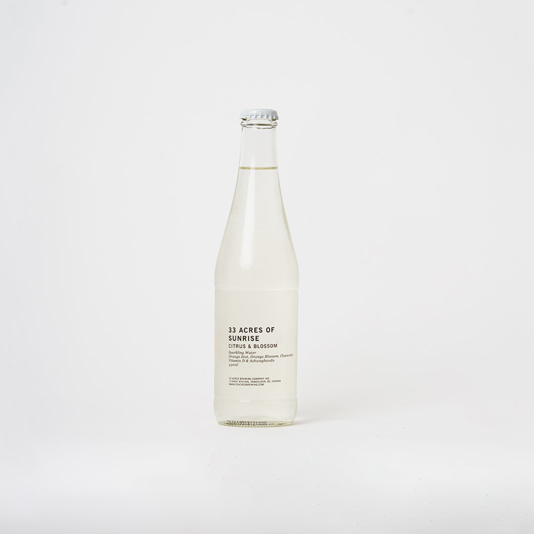 33 Acres of Sunrise - Citrus & Blossom Sparkling Water