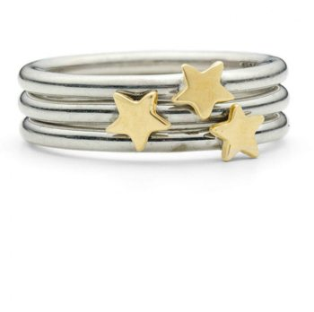 Three Star Stacking Ring