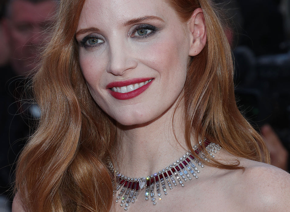 Mandatory Credit: Photo by Matt Baron/BEI/Shutterstock (8823020fj) Jessica Chastain 'Ismael's Ghosts' premiere and opening ceremony, 70th Cannes Film Festival, France - 17 May 2017