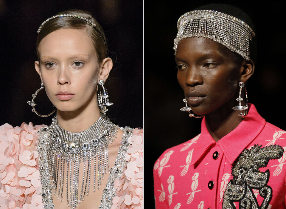 FAVOURITE JEWELLERY LOOKS AT FASHION WEEK AW17 2