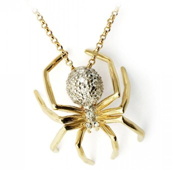Large Spider Necklace