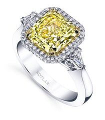 3.17ct Radiant Classico Ring