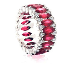 Amore Ruby Eternity Band