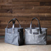Waxed canvas and leather bags- J. Leavitt Supply Company