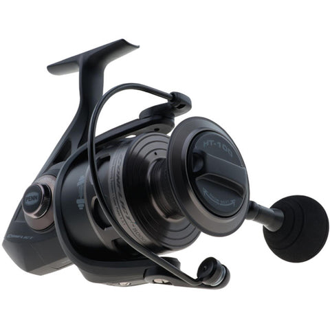 "Conflict Spinning Reel, 2500, 6.2:1 Gear Ratio, 33"" Retrieve Rate, Ambidextrous"