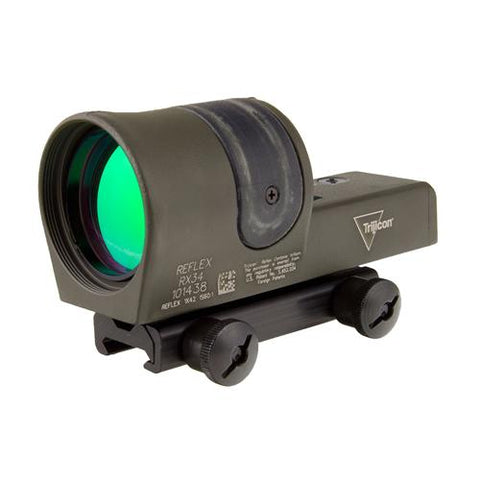 Reflex 1x42mm Sight - 4.5 MOA Amber Dot Reticle (without Mount), Cerakote Olive Drab Green