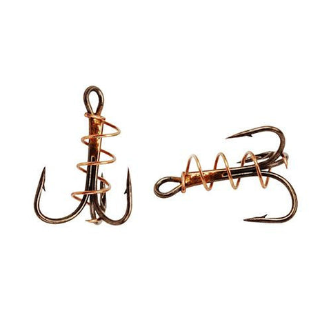 Soft Bait Treable Hook, Bronze - Size 6 (Per 5)
