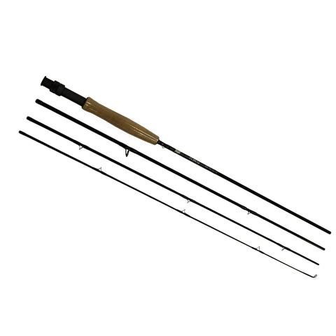 "HMG Fly Rod - 7'6"" Length, 4 Piece Rod, 3wt Line Rating, Fky Power, Medium-Fast Action"
